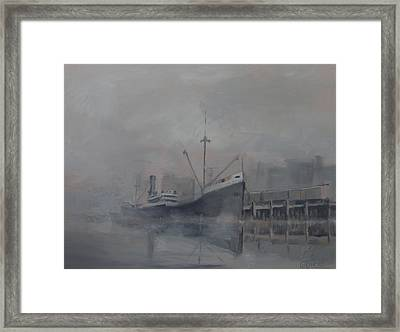 Pacific Trader Framed Print by Christopher Jenkins