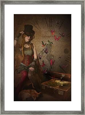 Packed To Go Framed Print by Veronica Ventress