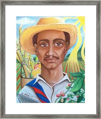 Padre Tierra Framed Print by Xiomara Aleksic