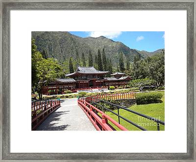 Pagoda Framed Print by Silvie Kendall