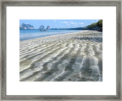 Pak Meng Beach Framed Print by Adrian Evans