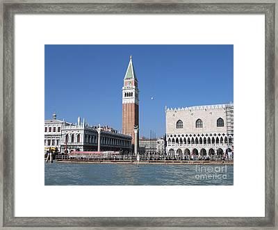 Palace Ducal. Venise Framed Print by Bernard Jaubert