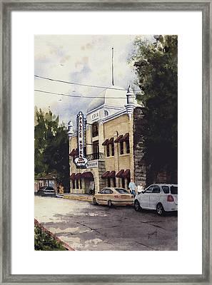 Palace Hotel Framed Print by Sam Sidders