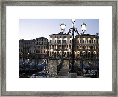 Palace. Venice Framed Print by Bernard Jaubert