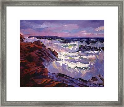 Palos Verdes Beach Framed Print by David Lloyd Glover