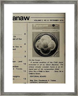 Pananaw 1979 Framed Print by Glenn Bautista