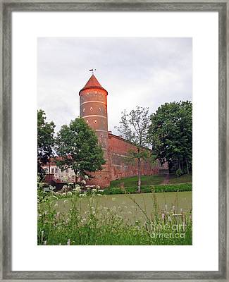 Panemunes Castle. Lithuania. Framed Print by Ausra Huntington nee Paulauskaite