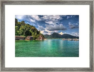 Pangkor Laut Framed Print by Adrian Evans