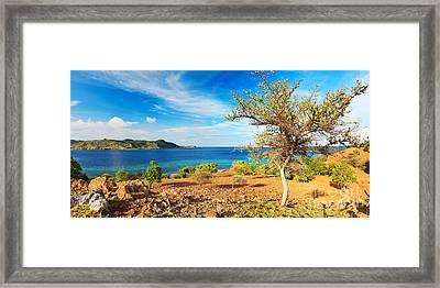 Panorama Island Framed Print by MotHaiBaPhoto Prints