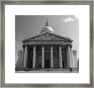 Pantheon Framed Print by Sebastian Musial