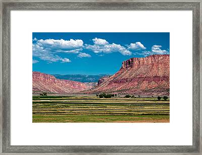 Paradox Valley One Framed Print by Josh Whalen
