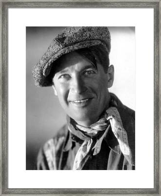 Paramount On Parade, Maurice Chevalier Framed Print by Everett