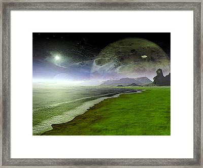 Paranormal Activity Framed Print by Wayne Bonney