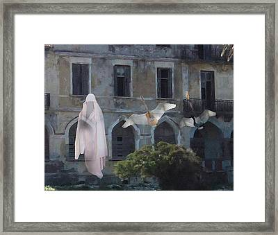 Paranormal Rock  Framed Print by Eric Kempson