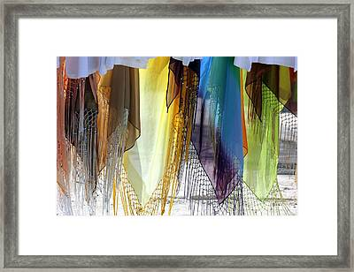 Pareo Framed Print by Sophie Vigneault