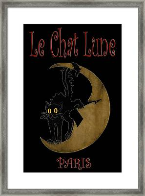 Paris Cafe Poster Framed Print by Andrew Fare