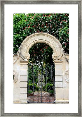 Paris Pet Cemetery Framed Print by Andrew Fare