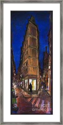 Paris Street 2 Framed Print by Yuriy  Shevchuk