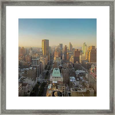 Park Avenue Framed Print by Patrick Davidson-Locke