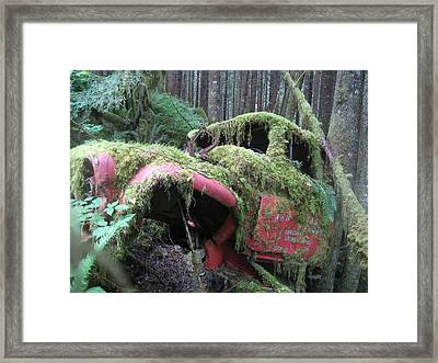 Parked For A While Framed Print by Shawn Hegan