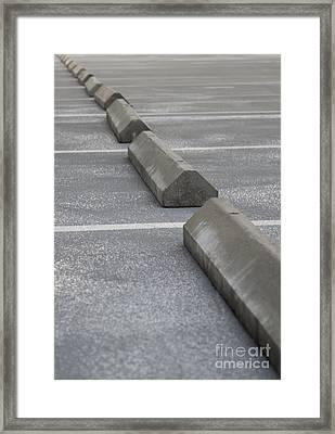 Parking Lot Framed Print by Blink Images