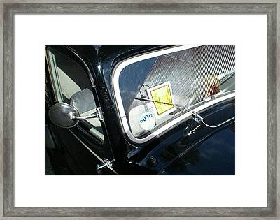 Parking Ticket Framed Print by Richard Newstead