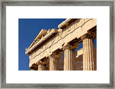 Parthenon Framed Print by Brian Jannsen