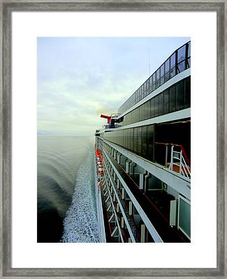 Parting Of The Waters Framed Print by Mindy Newman