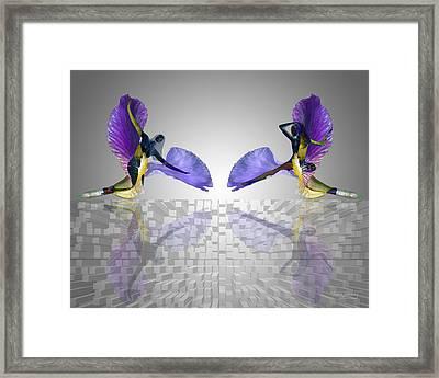 Pas De Deux Framed Print by Torie Tiffany