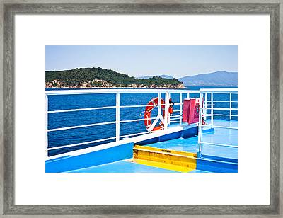 Passenger Ferry Framed Print by Tom Gowanlock