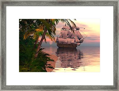 Passing By Framed Print by Claude McCoy