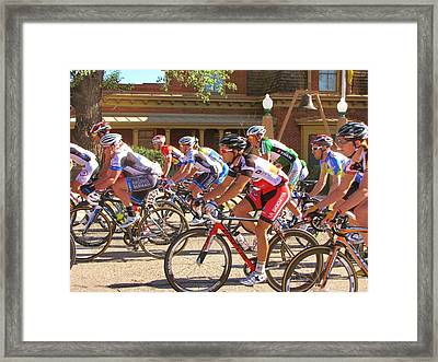 Passing The Silver City Museum Framed Print by Feva  Fotos