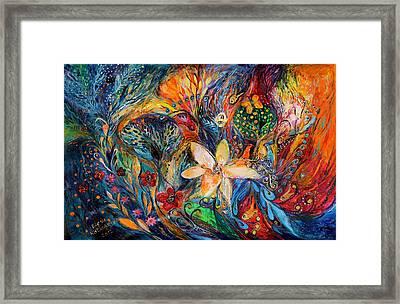Passion For The Ultramarine Framed Print by Elena Kotliarker