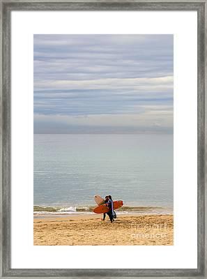 Pastel Manly Morning Framed Print by Avalon Fine Art Photography