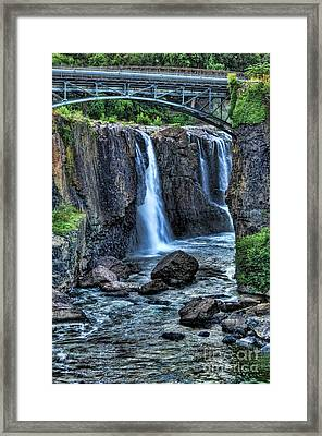 Paterson Great Falls Framed Print by Paul Ward