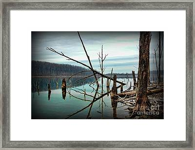 Path To Enlightment Framed Print by Paul Ward