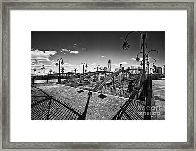 Path Well Worn  Framed Print by Leslie Leda