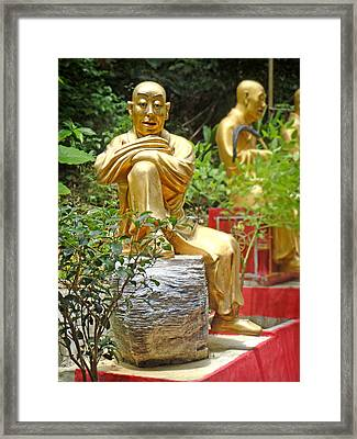 Hong Kong Framed Print featuring the photograph Patience Is Golden by Roberto Alamino