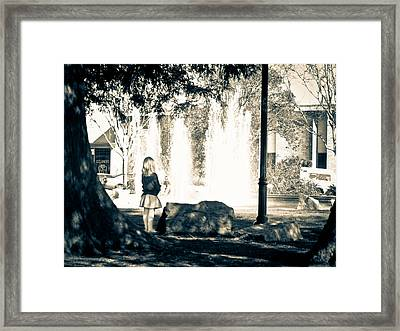 Patience Framed Print by Steven Baker