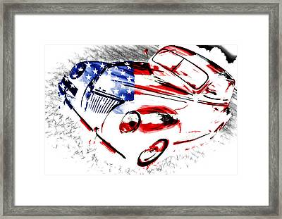 Patriotic 39 Ford Framed Print by Phil 'motography' Clark
