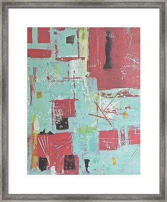 Patterns Framed Print by Wayne Potrafka