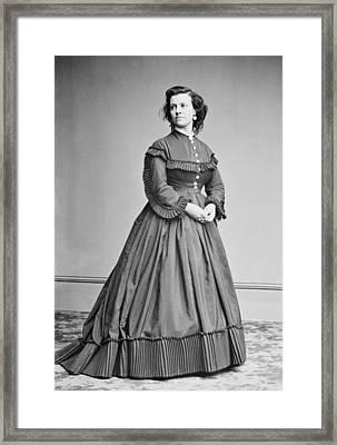 Pauline Cushman 1833-1893, Union Spy Framed Print by Everett