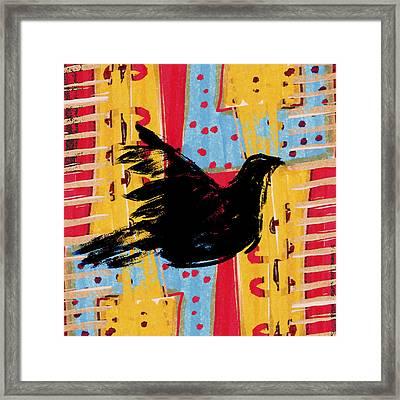 Peace Dove 3 Framed Print by Carol Leigh