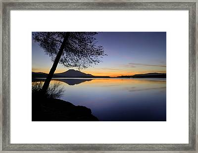 Peace Framed Print by Guido Montanes Castillo