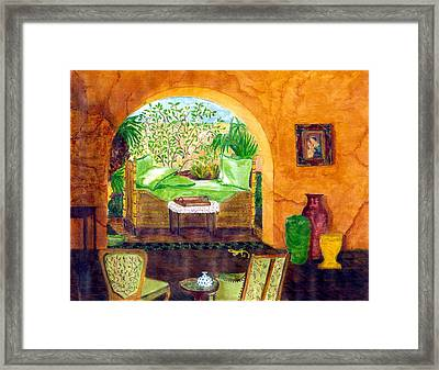 Peaceful Afternoon Framed Print by Cheryl Carrabba