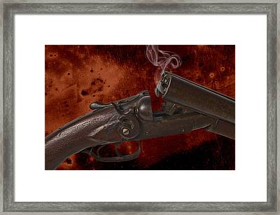 Peacemaker Framed Print by Robert Hudnall