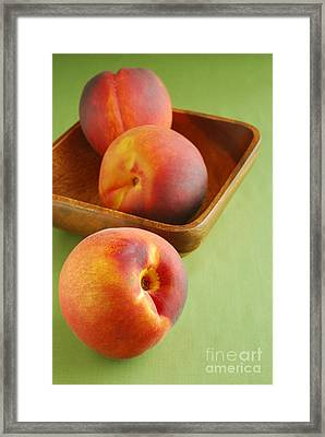 Peaches Framed Print by HD Connelly