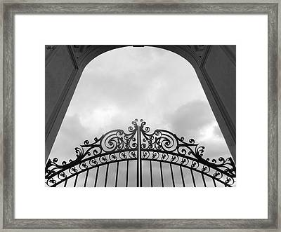 Pearly Gates Framed Print by Laura Hol Art