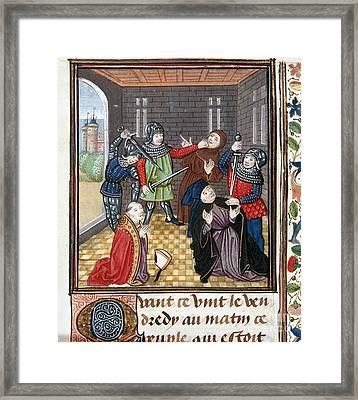 Peasants Revolt, 1381 Framed Print by Granger