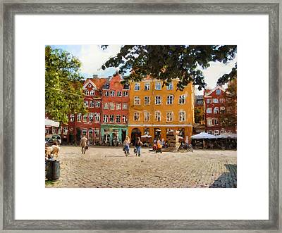 Peder Oxe Framed Print by Ozborne-Whilliamsson